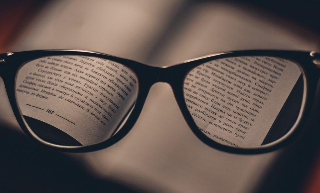 concentration, mettre des lunettes pour rester focus