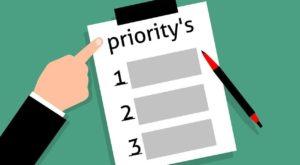 prioriser les tâches est fondamental